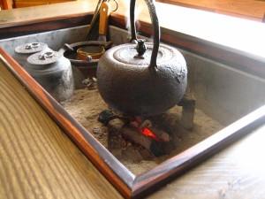 一枚板囲炉裏 (7)