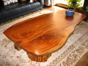 一枚板ローテーブル (12)