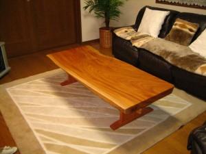 一枚板ローテーブル (14)