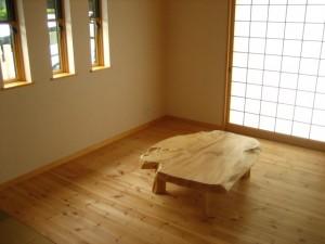 一枚板ローテーブル (19)