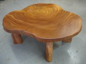 一枚板ローテーブル (22)