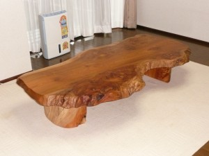 一枚板ローテーブル (25)
