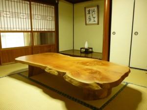 一枚板ローテーブル (28)