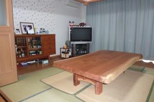 一枚板ローテーブル (29)