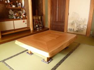一枚板ローテーブル (31)