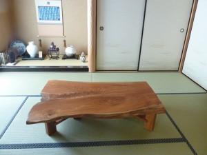 一枚板ローテーブル (36)