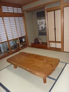 一枚板ローテーブル (40)