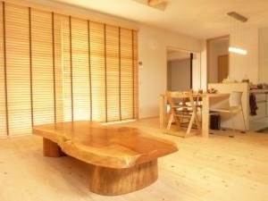一枚板ローテーブル (42)