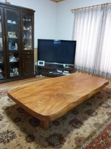 一枚板ローテーブル (47)