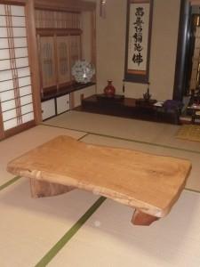 一枚板ローテーブル (49)