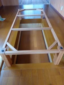 一枚板ローテーブル (51)