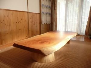 一枚板ローテーブル (60)