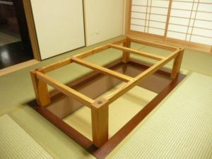 一枚板ローテーブル (71)