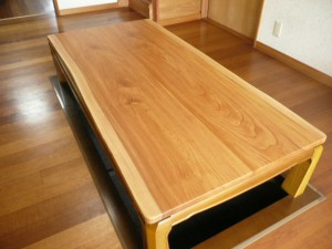 一枚板ローテーブル (74)