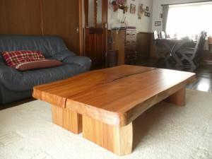 一枚板ローテーブル (78)