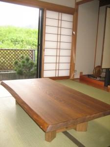 一枚板ローテーブル (82)
