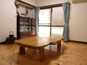 一枚板ローテーブル (86)