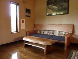 一枚板ソファ椅子 (15)