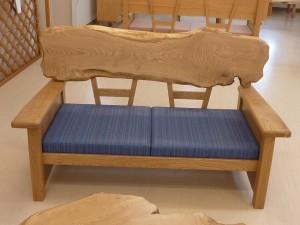 一枚板ソファ椅子 (21)