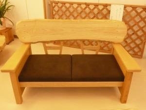 一枚板ソファ椅子 (23)