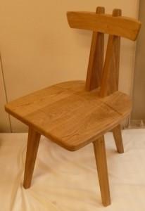 一枚板ソファ椅子 (25)