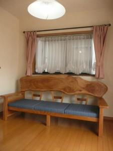 一枚板ソファ椅子 (26)
