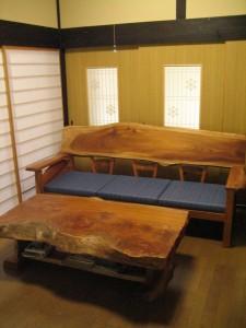 一枚板ソファ椅子 (30)