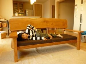 一枚板ソファ椅子 (31)