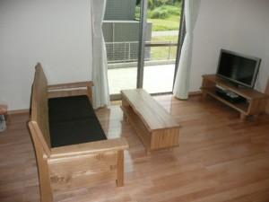 一枚板ソファ椅子 (32)