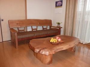 一枚板ソファ椅子 (36)