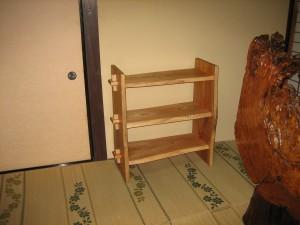 一枚板棚シェルフ (11)