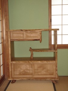 一枚板棚シェルフ (8)